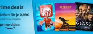 Amazon Angebote: Prime-Mitgliedschaft zum Vorteilspreis und 10 Filme für je 99 Cent