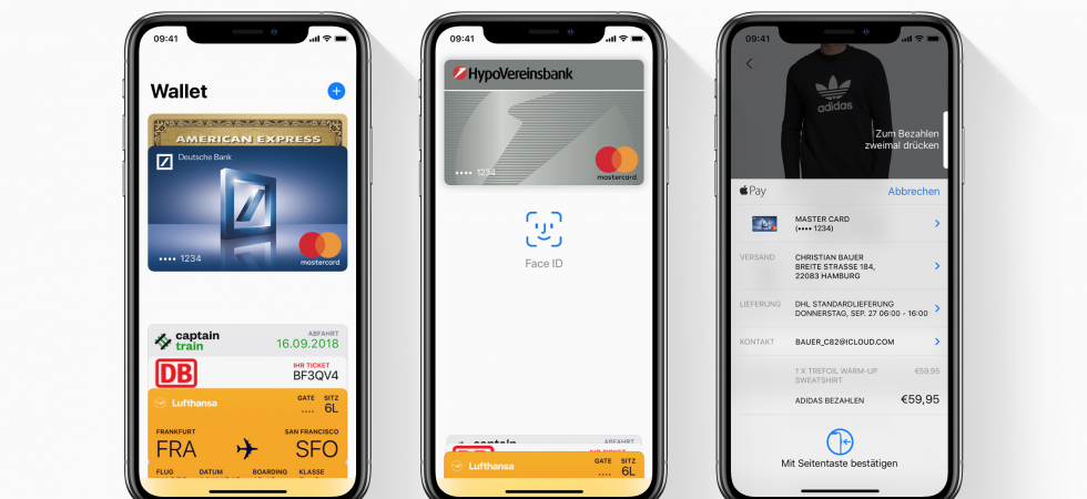 Zahlen mit Apple Pay: boon und Curve funktionieren wieder