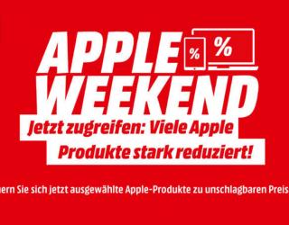 Reduziert: MacBooks, iPads und iMacs günstiger am Apple Weekend