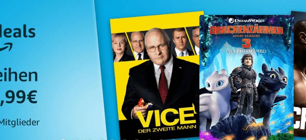 Amazon-Filmfreitag: Blockbuster für nur 0,99 Euro ausleihen!