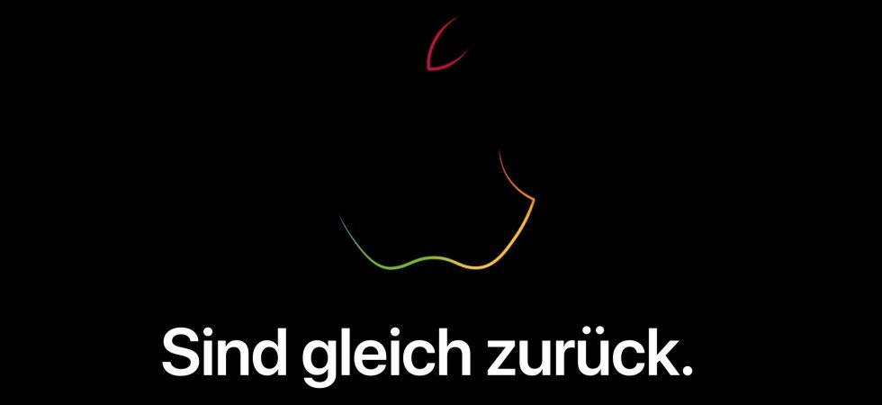 Offline: Apple Store geht vor der Keynote vom netz