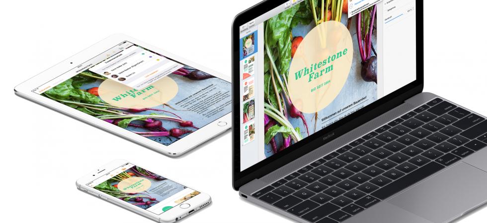 iWork mit großem Update: Das ist neu bei Pages, Numbers und Keynote für Mac und iOS