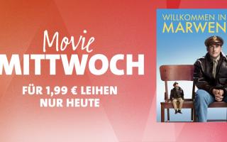 """Heute noch günstig: iTunes Movie Mittwoch: """"Willkommen in Marwen"""" für nur 1,99 Euro!"""