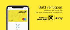 Raiffeisenbank Österreich bald mit Apple Pay
