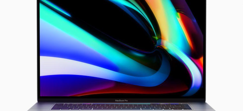 Neues 16 Zoll-MacBook Pro knackt bei einigen Nutzern, bei euch auch?