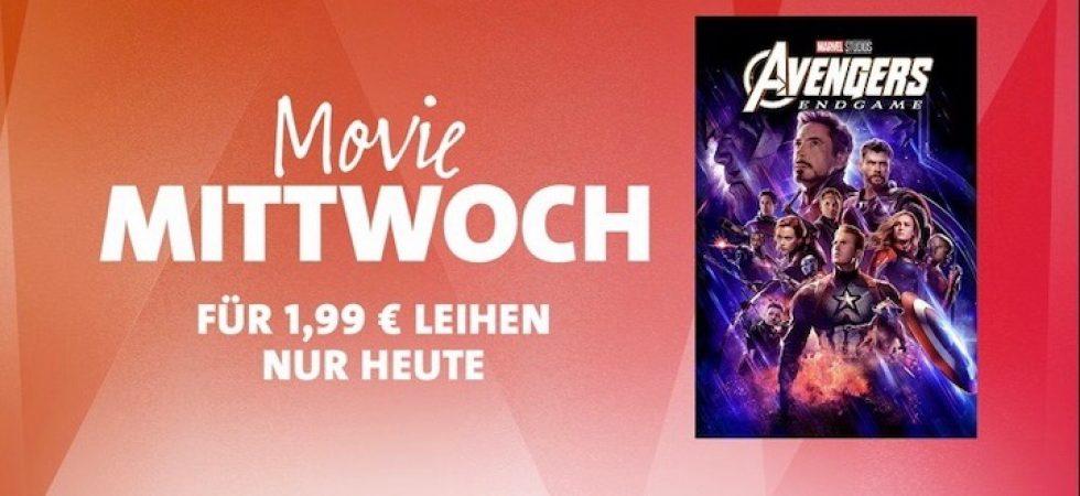 """iTunes Movie Mittwoch: """"Marvel Studios Avengers: Endgame"""" für 1,99 Euro leihen"""