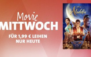 """iTunes Movie Mittwoch: """"Aladdin"""" für 1,99 Euro leihen"""