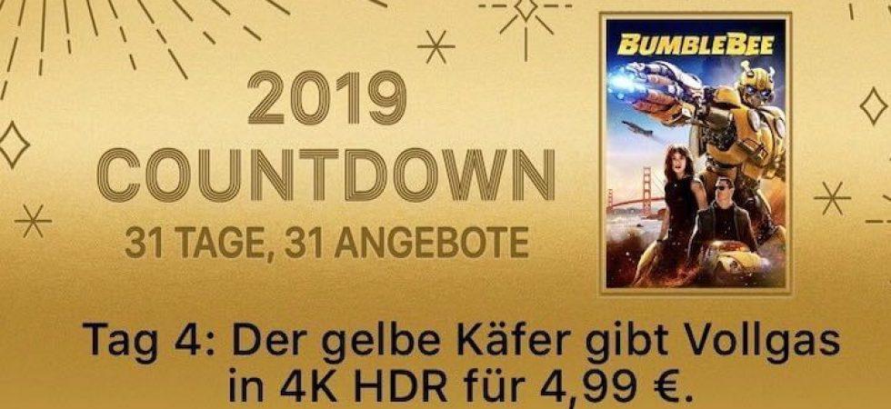 "2019 Countdown – 31 Tage, 31 Angebote: ""Bumblebee"" für 4,99 Euro"