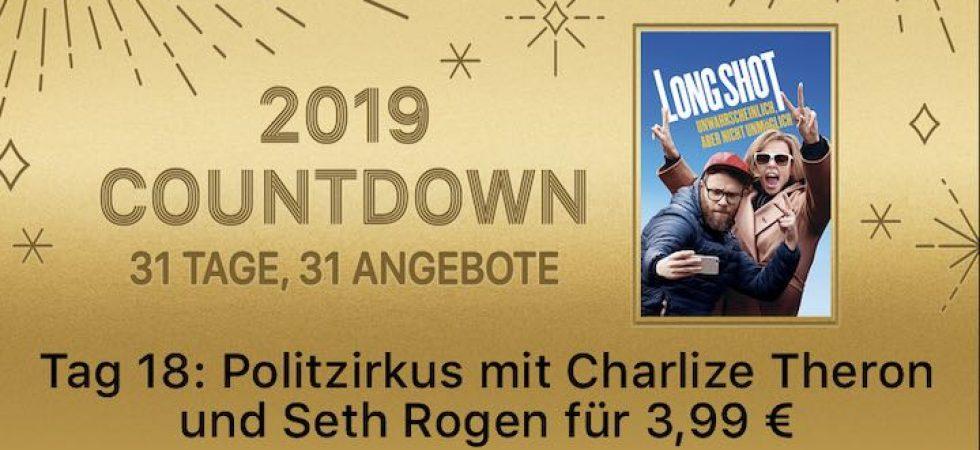 """2019 Countdown – 31 Tage, 31 Angebote: """"Long Shot"""" für 3,99 Euro kaufen"""