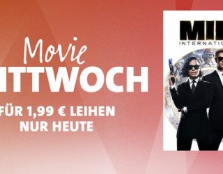 "iTunes Movie Mittwoch: ""MIB: International"" für 1,99 Euro leihen"