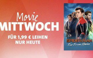 """iTunes Movie Mittwoch: """"Spider-Man: Far From Home"""" für 1,99 Euro leihen"""