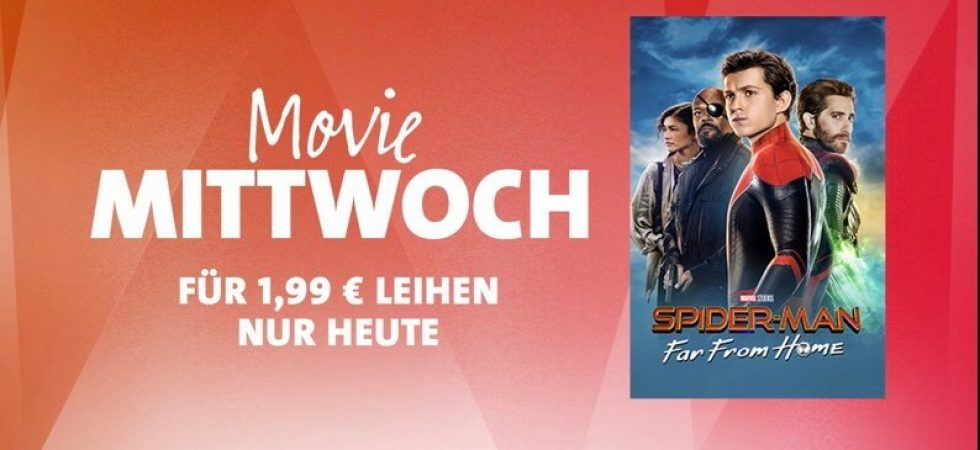 "iTunes Movie Mittwoch: ""Spider-Man: Far From Home"" für 1,99 Euro leihen"