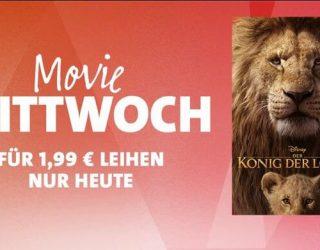 """iTunes Movie Mittwoch: """"Der König der Löwen (2019)"""" für 1,99 Euro leihen"""