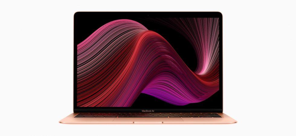 Offiziell: Apple stellt MacBook Air mit Magic Keyboard, neuem Prozessor und mehr Speicher vor