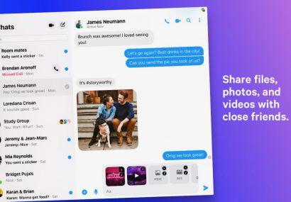 Der Facebook Messenger für Mac steht ab sofort im Mac App Store