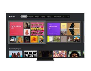 Apple Music spielt mit neuer App jetzt auch auf Samsung-Smart TVs