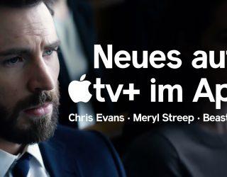 VIDEO: Chris Evans und Meryl Streep – Die Highlights auf Apple TV+ im April