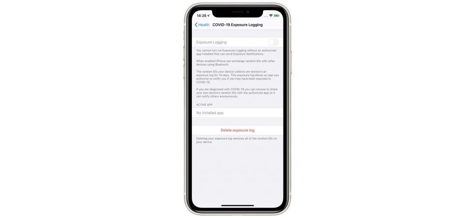 Apple erklärt: So arbeitet die Corona-Kontaktverfolgungsschnittstelle in iOS