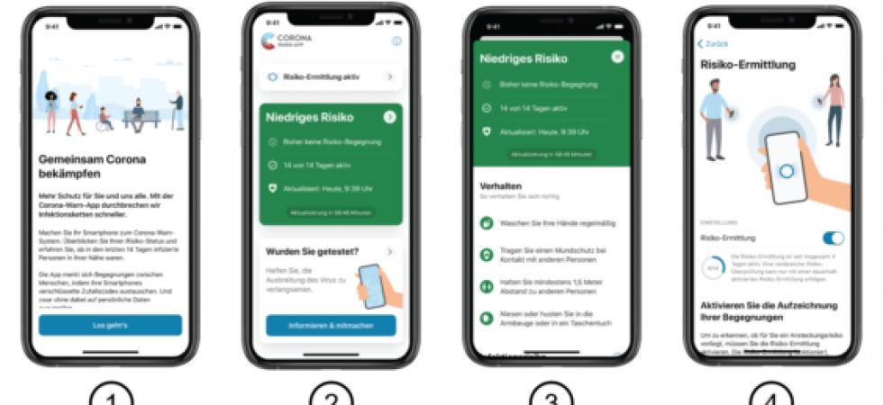 Die Corona-Warn-App unterstützt jetzt Check-ins per QR-Code