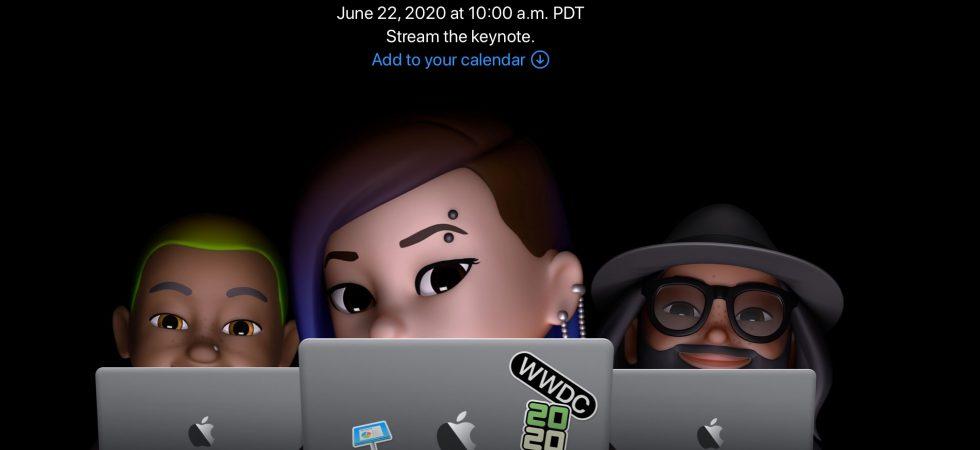 Offiziell: Apple verschickt Einladungen für Online-Keynote zur WWDC 2020