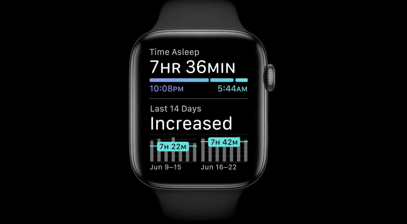 watchOS 7 Screenshots