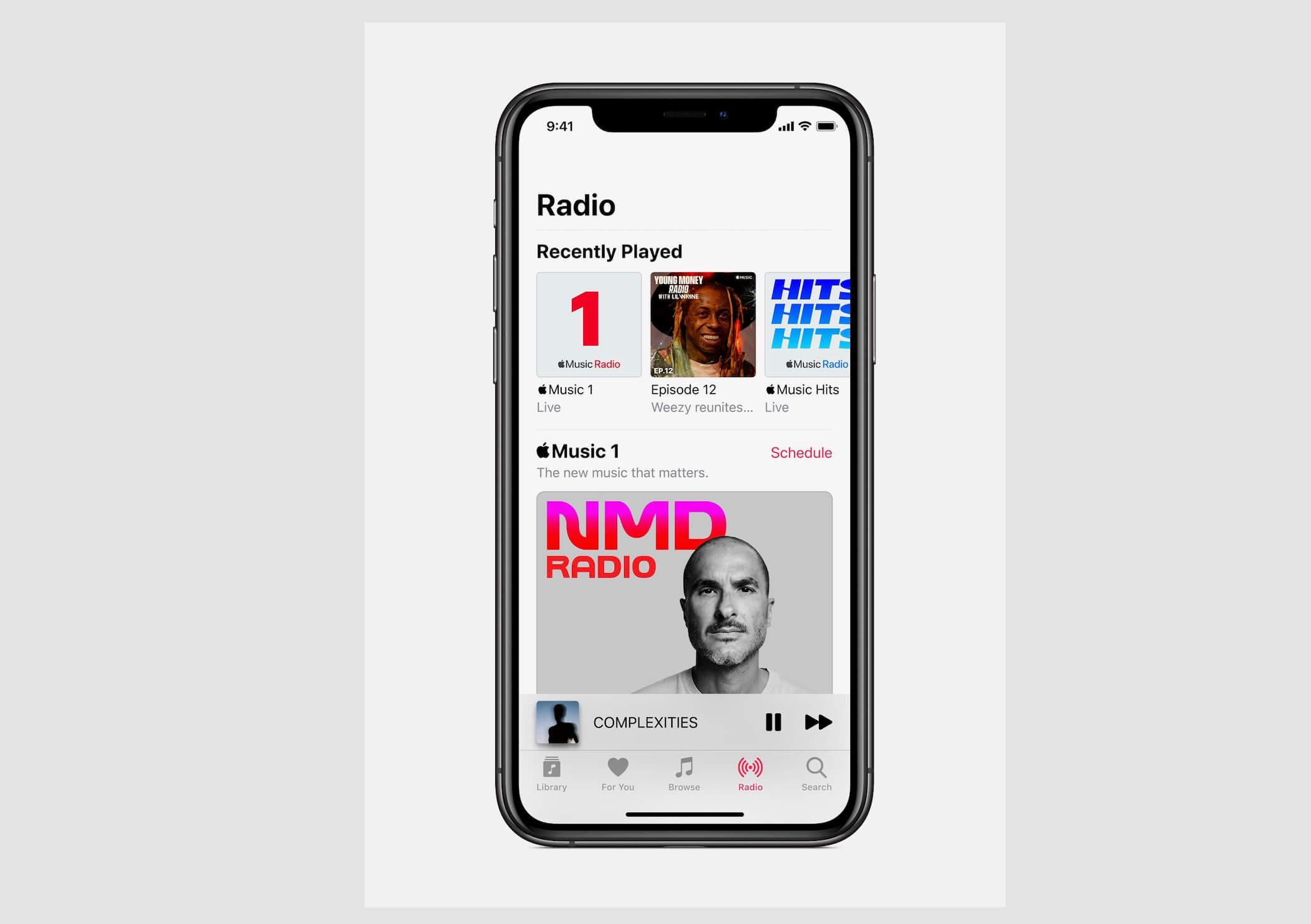Neue Sender von Apple Music 1 - Screenshot