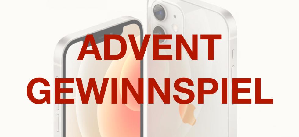 Gewinnspiel: iPhone 12 mini zum 1. Advent gewinnen!