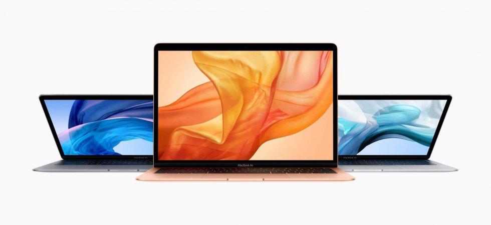 Mehr Leistung, längere Laufzeiten, selbes Design: Apple stellt MacBook Air 2020 vor