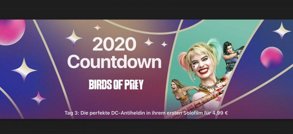 """Tag 3 im 2020 Countdown bei iTunes: """"Harley Quinn: Birds of Grey"""" für 4,99€"""