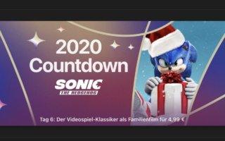 "Nikolaus am 2020 Countdown: ""Sonic: The Hedgehog"" für 4,99€"