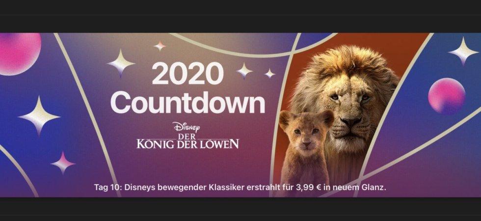 """Tag 10 im 2020 Countdown: """"König der Löwen (2019)"""" für 3,99€"""