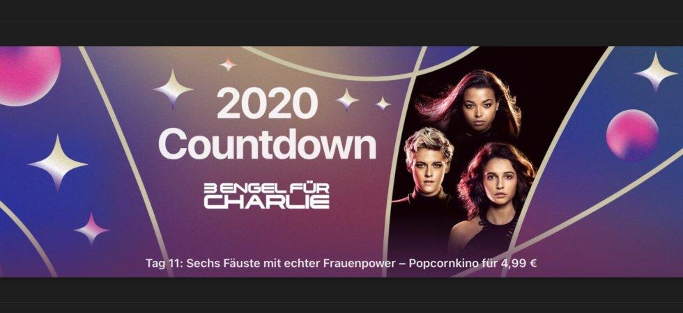 """Tag 11 im 2020 Countdown: Heute """"3 Engel für Charlie (2019)"""" für 4,99€"""