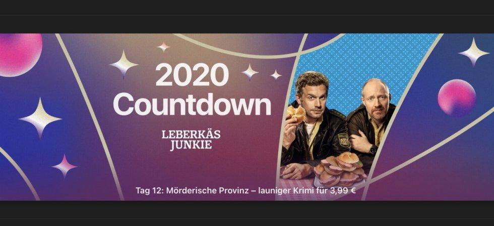 """Tag 12 im 2020 Countdown: Heute """"Leberkäsjunkie"""" für 3,99€"""