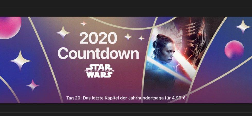 """2020 Countdown: """"Star Wars: Der Aufstieg Skywalker"""" für 4,99€"""