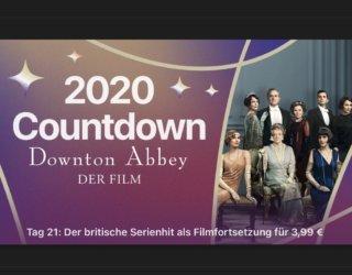 """2020 Countdown """"Downton Abbey – der Film"""" für 3,99€"""