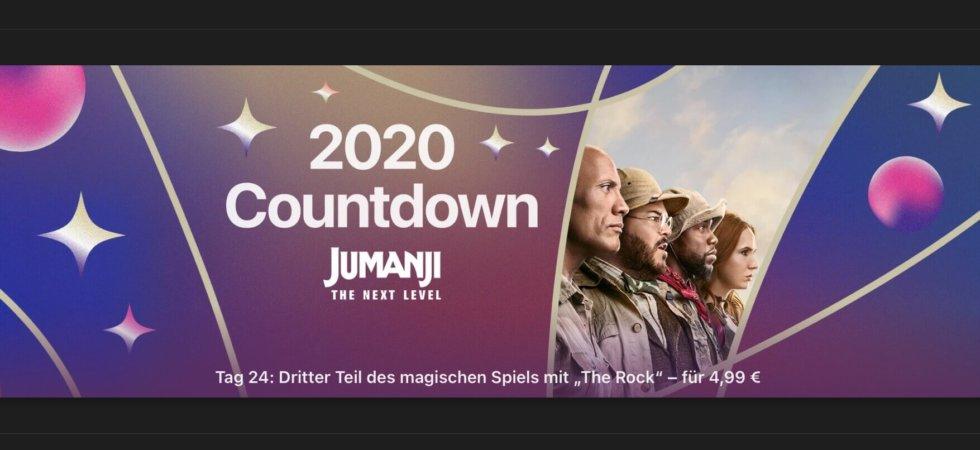 """2020 Countdown: """"In Jumanji – The Next Level"""" für 4,99 Euro"""