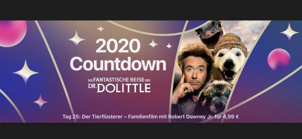 """2020 Countdown: """"Die fantastische Reise des Dr. Dolittle"""" für 4,99€"""