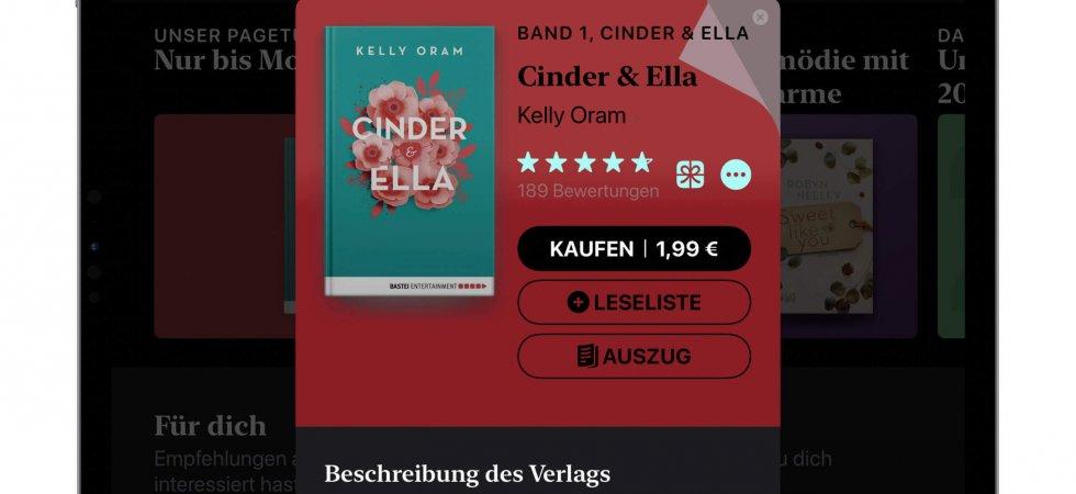 """Apples Pageturner der Woche: """"Cinder & Ella"""" Band 1 für 1,99€ kaufen"""