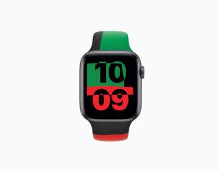 Ab heute erhältlich: Schwarze Apple Watch Series 6 und Black Unity-Sportarmband