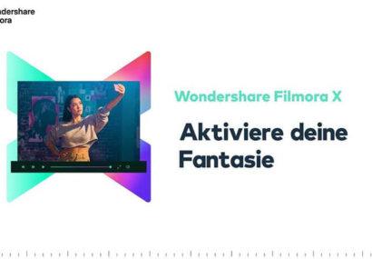Filmora X: Wondershare-Videoschnittsoftware wird noch besser mit Keyframing