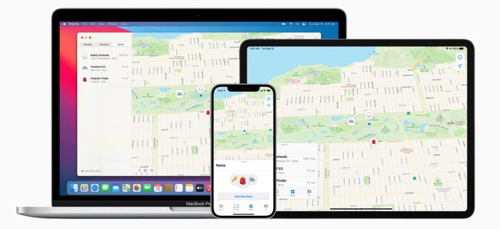 Wo ist: Apple öffnet offiziell Ortungsnetzwerk und teilt U1-Spezifikationen mit Dritten