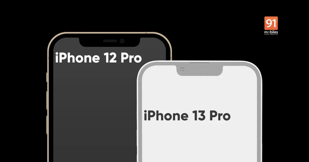 iPhone 13 Front - 91Mobiles