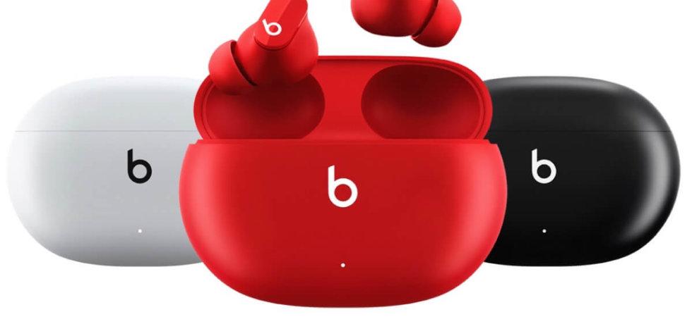 Ab heute: Beats Studio Buds von Apple für 150 Euro erhältlich