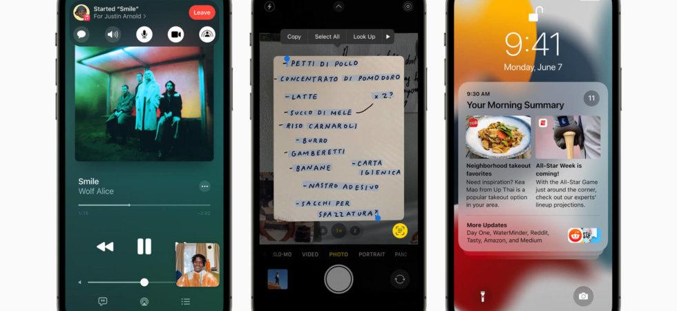 iOS 15 Beta 3 nimmt Änderungen an der Safari-Adressleiste vor