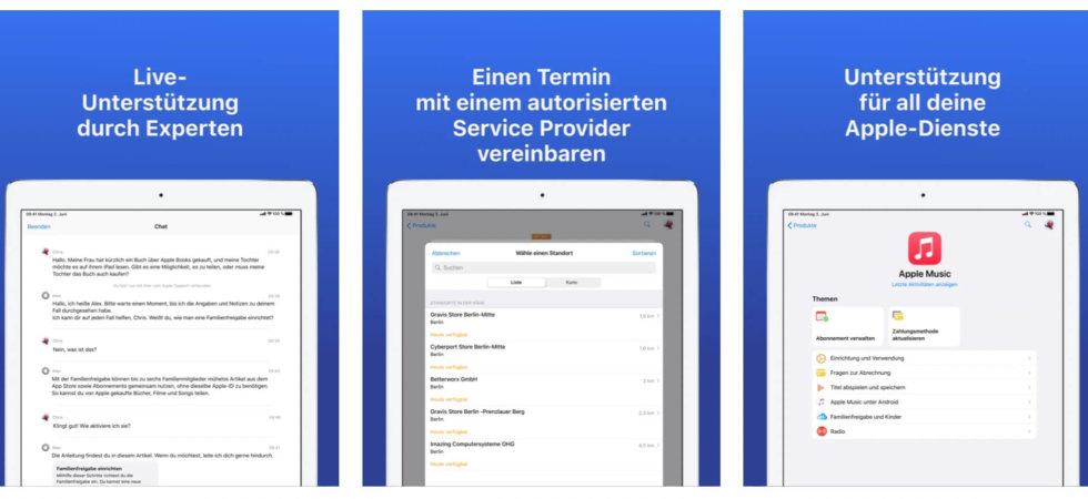 Apple Support-App verwaltet jetzt auch eigene AirPods