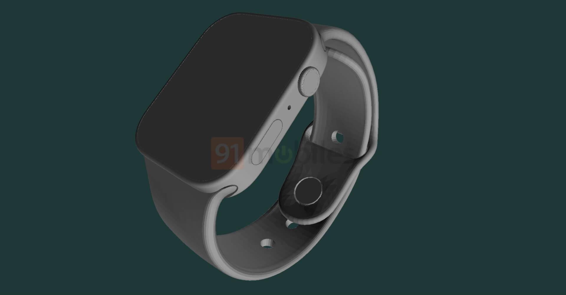 Apple Watch Series 7 Leak - 91Mobiles