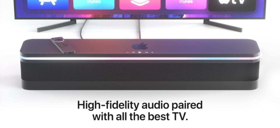HomePod TV Konzept: Apple TV und HomePod als Kombi?