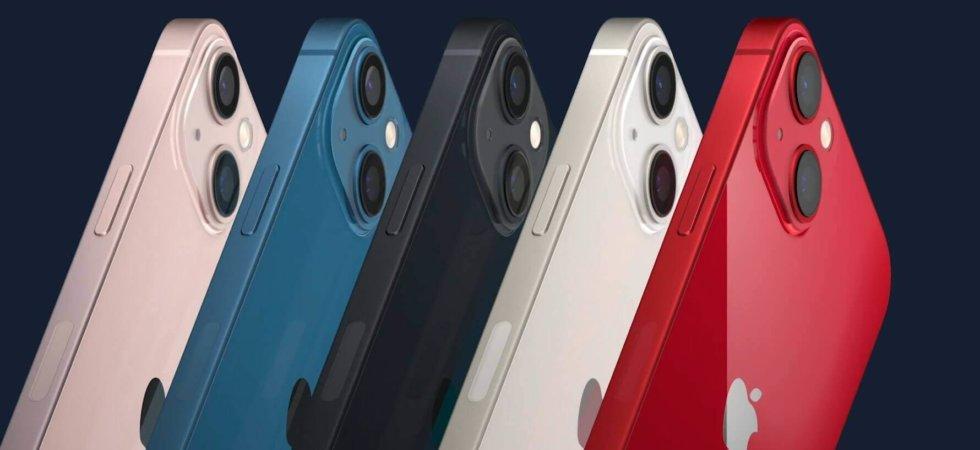 iPhone 13 / 13 Mini. Kleinere Notch, größerer Akku, bessere Kameras